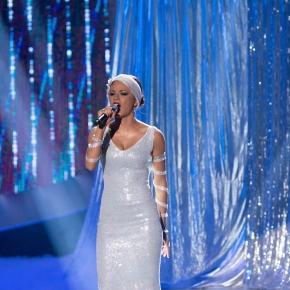 Natalia Szroeder podczas występu (fot. Fb / TTBZ)
