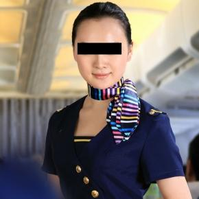 Stewardesa care făcea sex pe bani