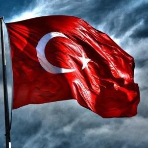 Flaga Turcji - Twitter: @sinan_melemez