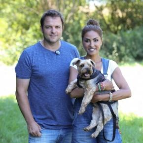 Hundeprofi Martin Rütter, Sabrina Setlur & Kenzo