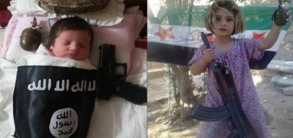 Copiii Statului Islamic sunt îndoctrinați din fașă