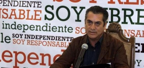 """""""El bronco"""", gobernador de Nuevo León."""