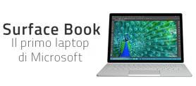 Surface Book, il primo laptop di Microsoft