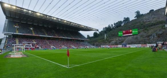 Portugal - Dinamarca em directo a partir de Braga.