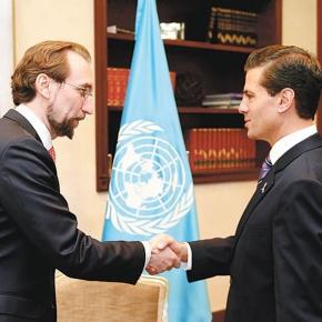"""""""Grave crisis de derechos humanos"""" en México: ONU"""