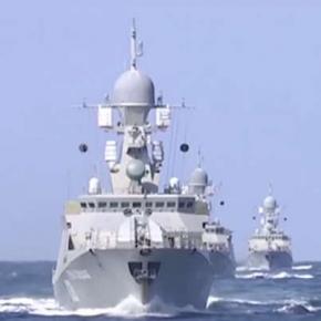 Navele ruseşti care au lansat rachele în Siria