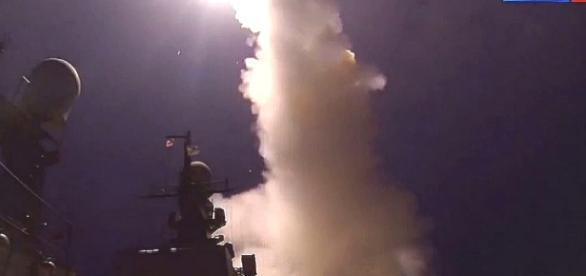 Startuje rosyjski pociski samosterujący.