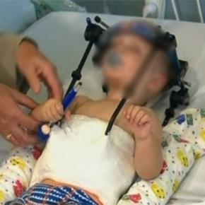 Bebelusul a fost decapitat in urma unui accident