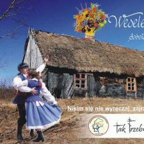 Zaproszenie na dawne tradycyjne wesele