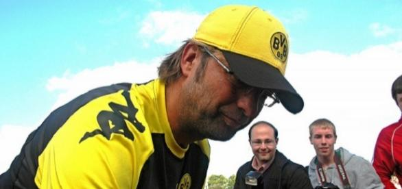Klopp has signed a three-year deal at Anfield