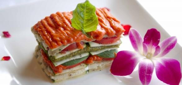 Lasagna raw Food, dieta de moda