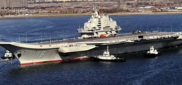 Portavionul Lianoning se alătură Rusiei în Siria