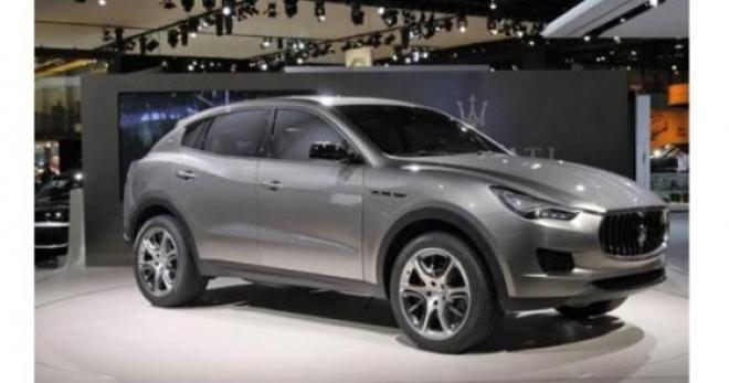 Maserati Levante: Marchionne punta tutto sul nuovo Suv