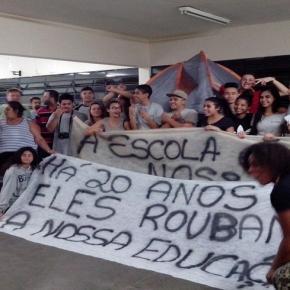 Diadema também tem mobilização de alunos