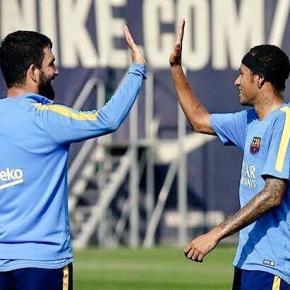 Neymar und Arda Turan schätzen sich