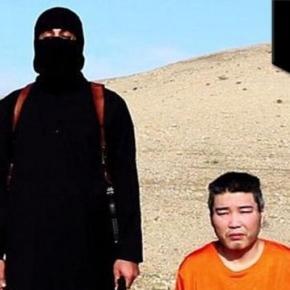 Demanding ransom for Japanese hostages.