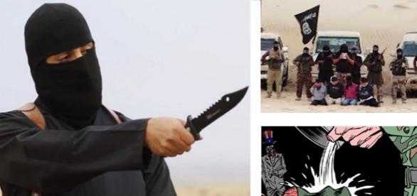 "Brutalul terorist britanic poreclit ""Jihadi John"""
