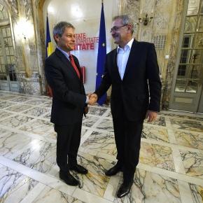 Dacian Cioloş şi Liviu Dragnea