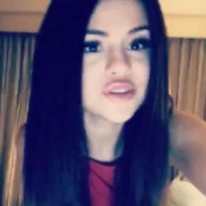 Justin Biebers Exfreundin Selena Gomez.