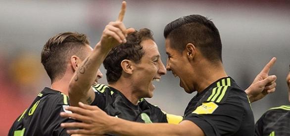 Gran actuación de la Selección Mexicana