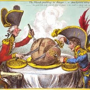 Caricature James Gillray – Plumpudding