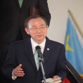 UN's Ban Ki-moon to go to Pyongyang, North Korea.