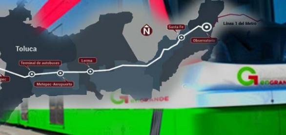 El Tren Toluca-México, obra polémica