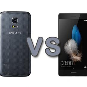 Huawei p8 lite vs galaxy s5