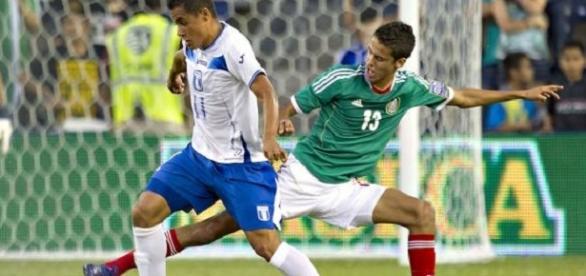 México contra Honduras en el 2013