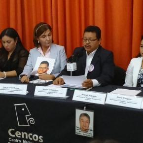 Familiares de desaparecidos en México