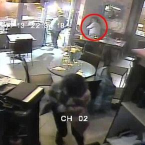 Imagini din cafeneaua terorii.