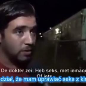 Uchodźca skarży się na brak seksu
