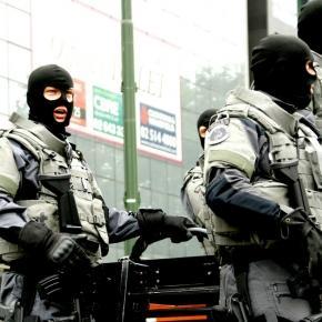 Trupele speciale ale poliţiei Belgiene