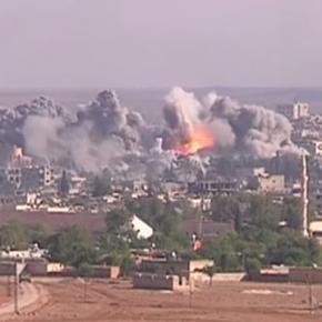Miażdżące naloty pchają ISIS do wojny w Europie.