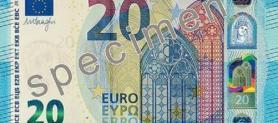Il nuovo biglietto da 20 € è in circolazione: come riconoscerlo