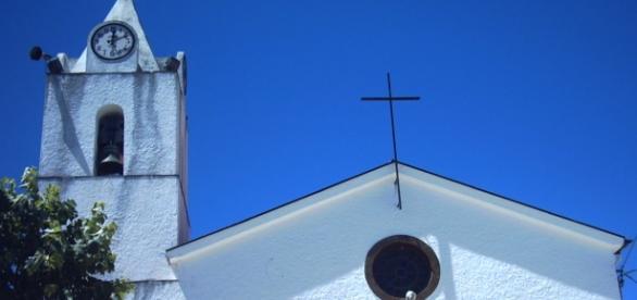 A imagem de São João Batista Igreja das Cortes