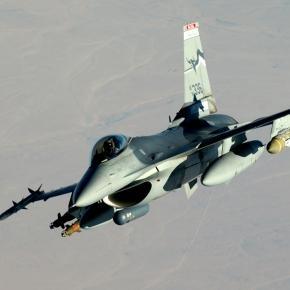 Avion F-16 aflat în dotarea armatei Turciei