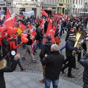 Marsz w Toruniu/ fot. Maciej Wróbel