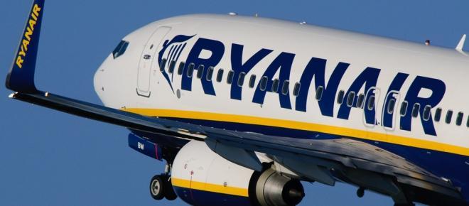 Ryanair lança promoção com voos a 5€