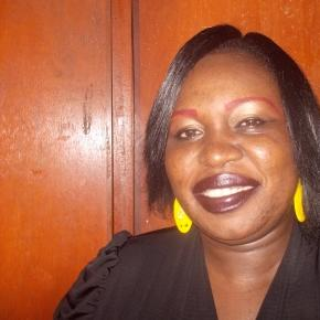 L'auteure Odile Ariane Pahai Langa