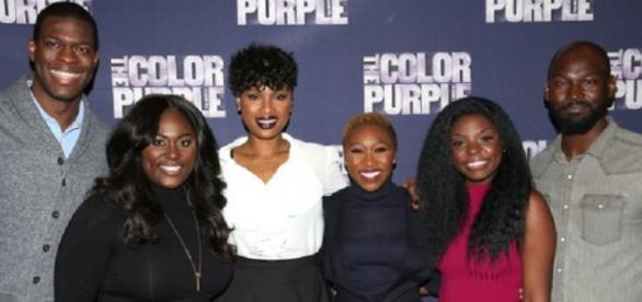 The cast from the Color Purple
