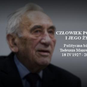 T. Mazowiecki i jego droga człowieka poczciwego