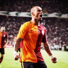 Wesley Sneijder von Galatasaray