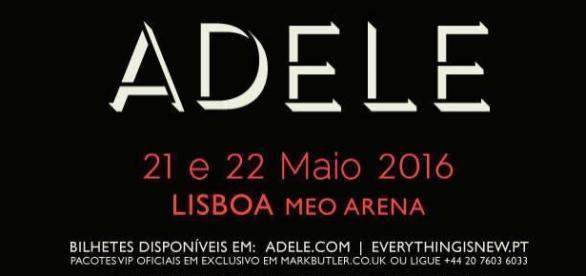 A artista estreia-se, em Portugal, em maio.