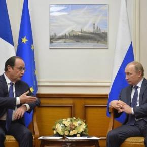 Vladimir Putin - Francois Hollande la Kremlin