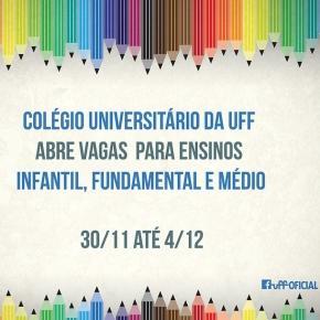 Arte divulgada na página da UFF no Facebook