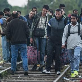Refugiados preferem o norte da Europa.
