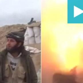 Un terorist și cameramanul său uciși de o bombă