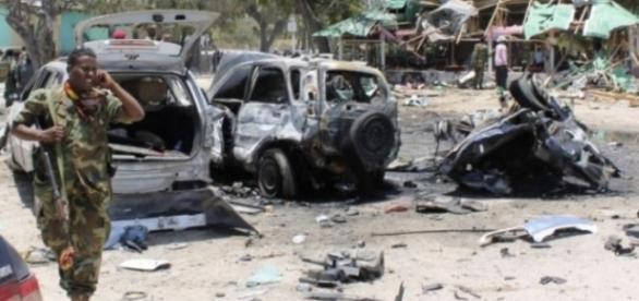 Atac terorist asupra unei baze ONU