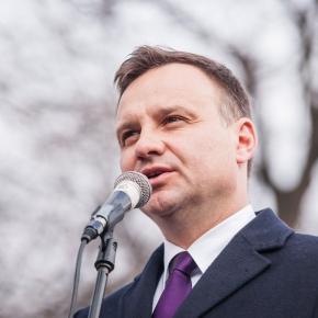 Andrzej Duda, preşedintele Poloniei